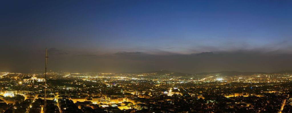 Ateny - panorama