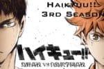Haikyuu!! 3rd Season