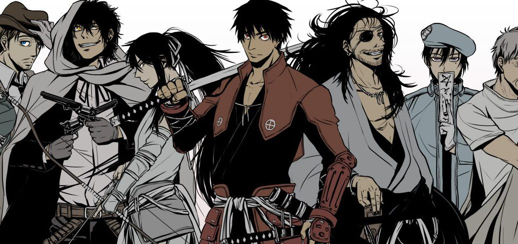Download Anime Pack Drifters All episodes English Subbed