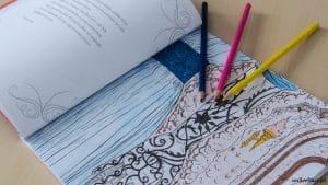 Dwór cierni i róż. Książka do kolorowania