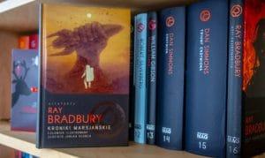 Kroniki marsjańskie. Człowiek ilustrowany. Złociste jabłka słońca Ray Bradbury