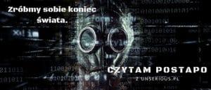 Czytam postapo z unSerious.pl // banner