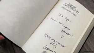 Legendy Archeonu Świat stary i nowy   Thomas Arnold   Autograf